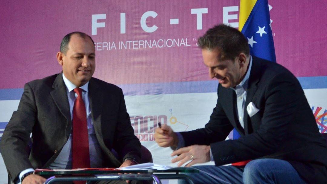 FEDEINDUSTRIA FIRMA CONVENIOS PARA EL FOMENTO  CIENTÍFICO, TECNOLÓGICO  Y DE INNOVACIÓN