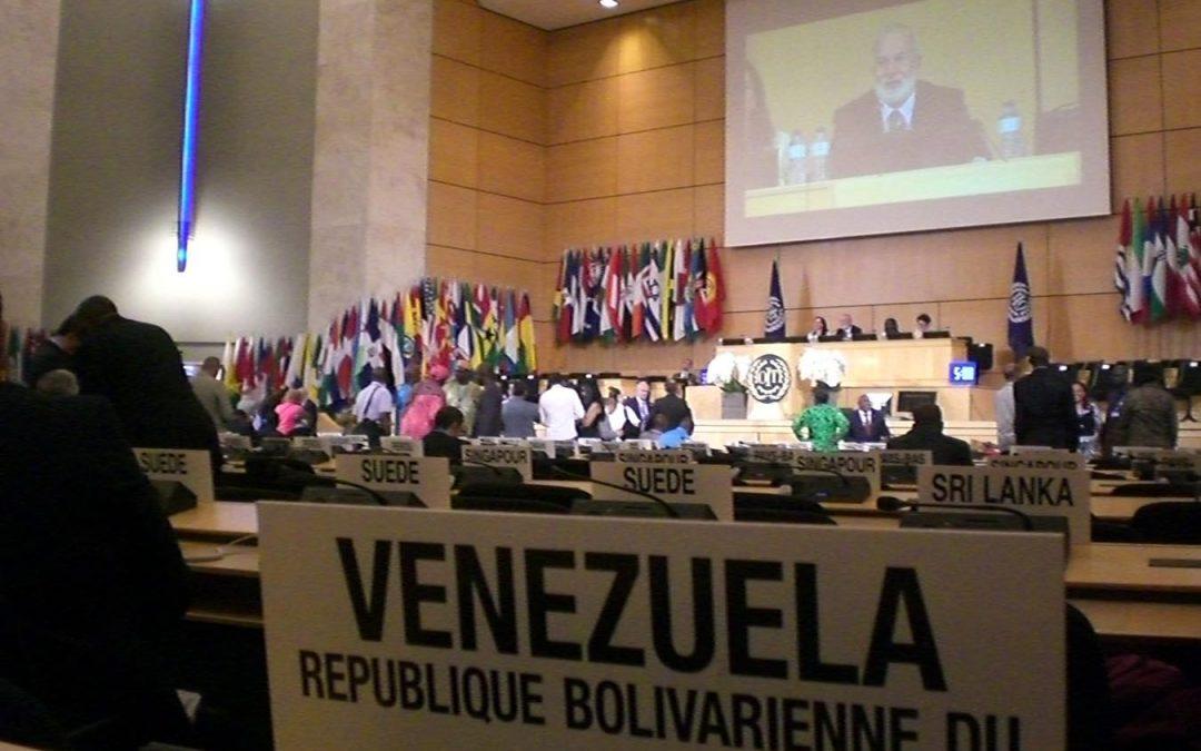 FEDEINDUSTRIA EXPONE AVANCES DEL DIÁLOGO SOCIAL EN VENEZUELA DURANTE CONFERENCIA ANUAL DE LA OIT