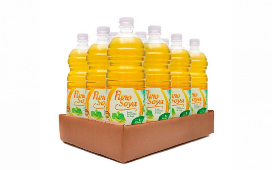 Aceite Purosoya 1 Lt x 12
