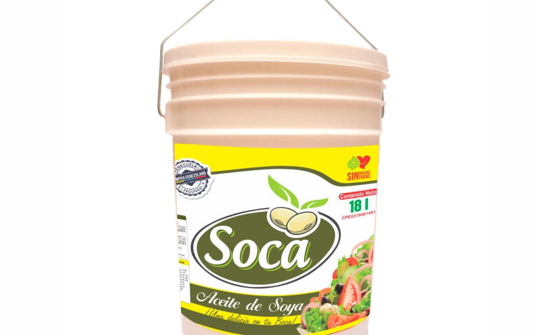 Aceite de Soya 18Lts Soca
