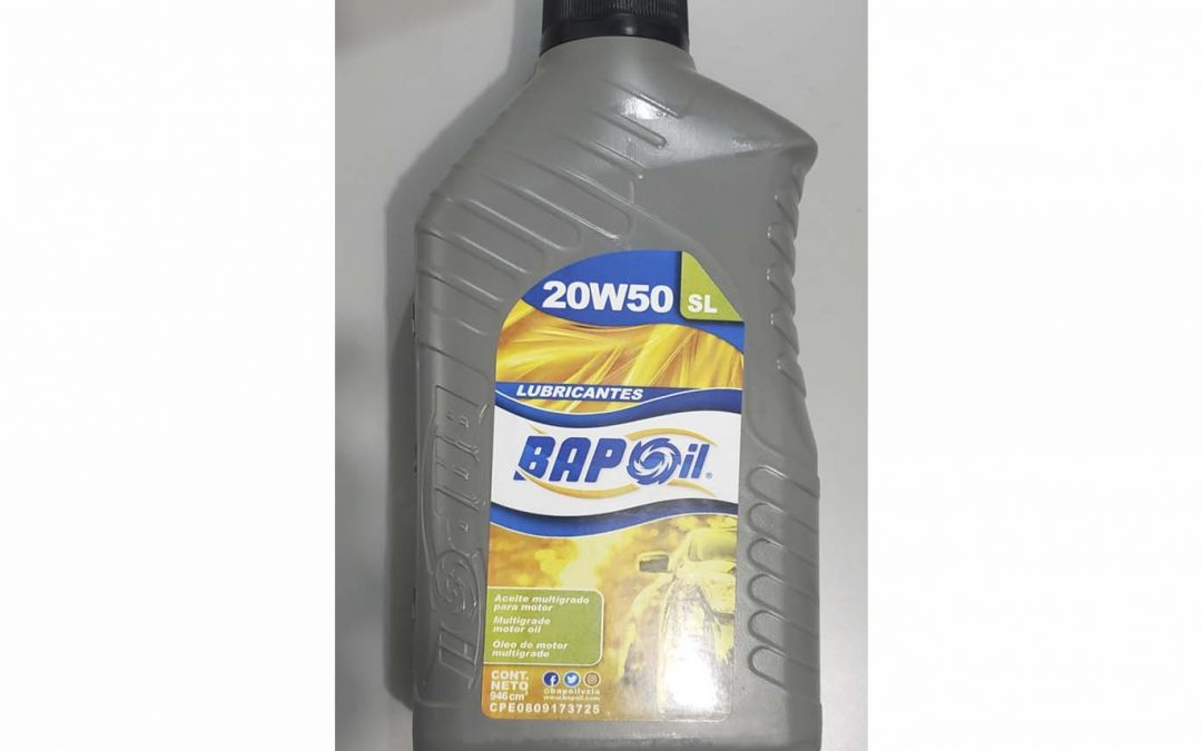 Aceite SL 20W50 MINERAL