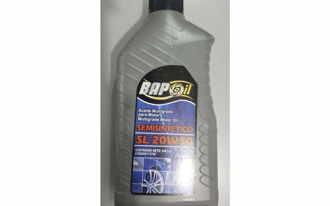 Aceite Semisintético SL 20W50