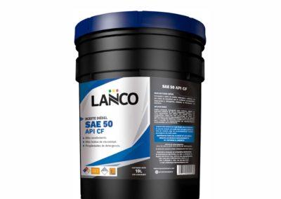 Aceite Diésel SAE 50 CF