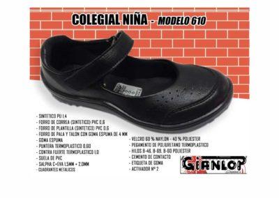 COLEGIAL DE NIÑA
