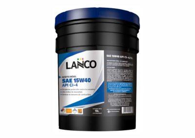 Aceite Diésel SAE 15W40 CI-4