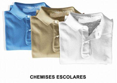 Chemises Escolares