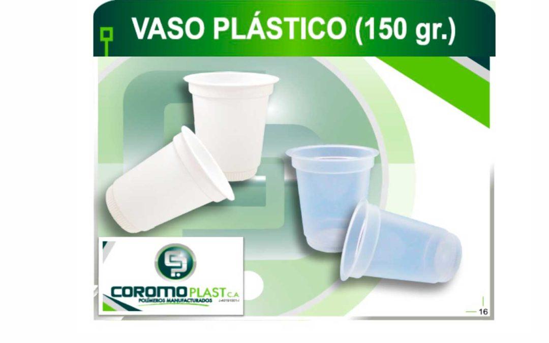 VASO PLÁSTICO 150 GR