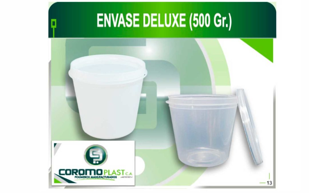 ENVASE C/TAPA DELUXE 500GR
