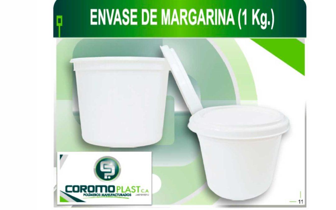ENVASE C/TAPA MARGARINA 1KG
