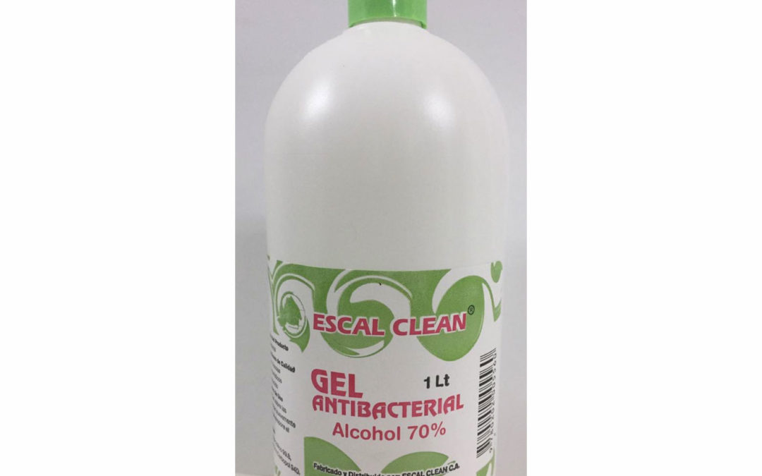 Gel Antibacterial al 70%