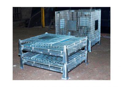 Cesta para manejo de preformas y envases PET