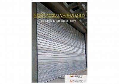 Puerta Santa María Acorazada en Aluminio