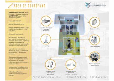 Diseño y Construcción de áreas hospitalarias