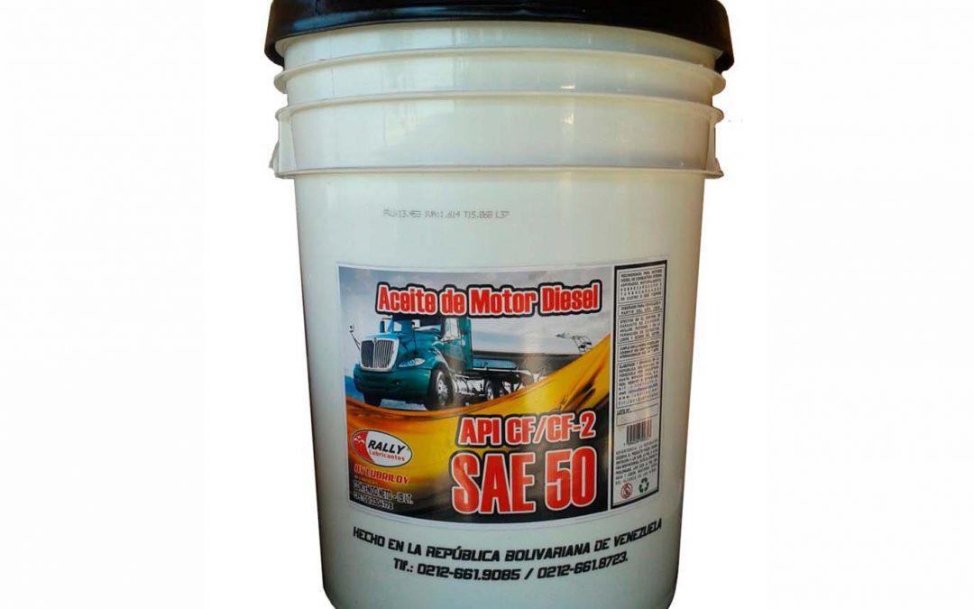 Aceite SAE 50 API CF/CF-2