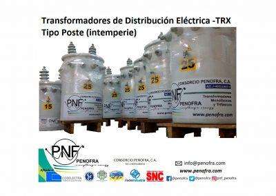 Tipo Poste TRX Transformadores