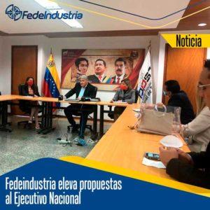 El Ministro del Poder Popular para el Proceso Social de Trabajo, realizó una mesa de trabajo con Fedeindustria