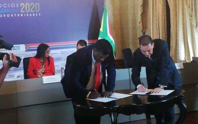 Fedeindustria y la Cámara de Comercio de Sudáfrica, firman acuerdo